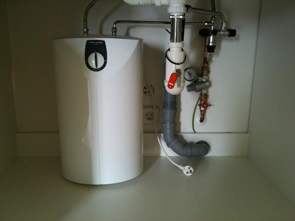 Close in boiler aansluiten op warm water cv ketel bijvullen met