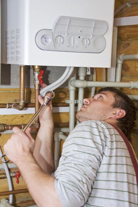 gasboiler installatie